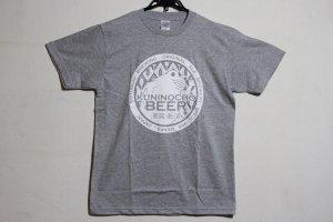 画像1: 國乃長オリジナルTシャツ(グレー)