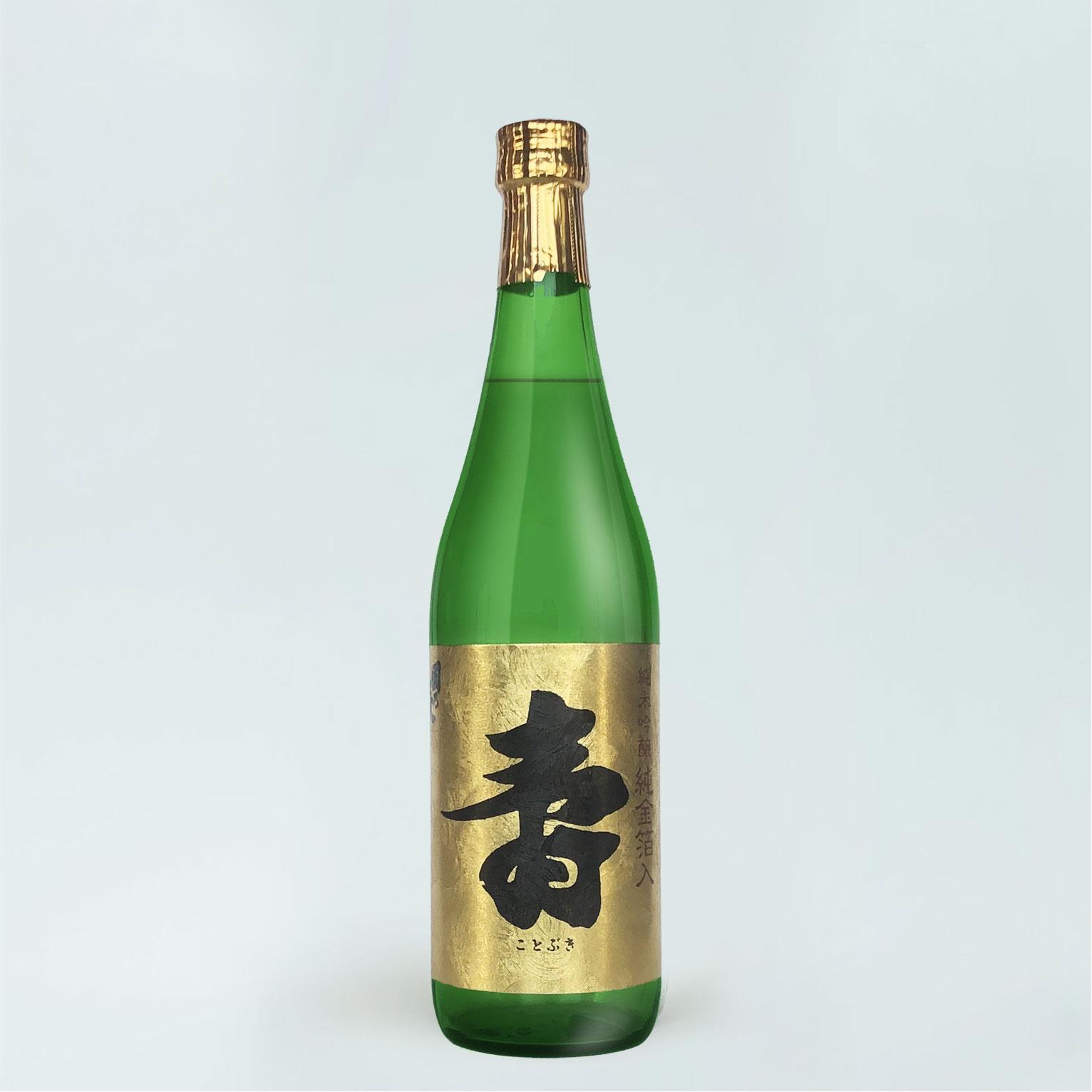 日本酒 國乃長 寿 純金箔入り 純米吟醸酒 720ml